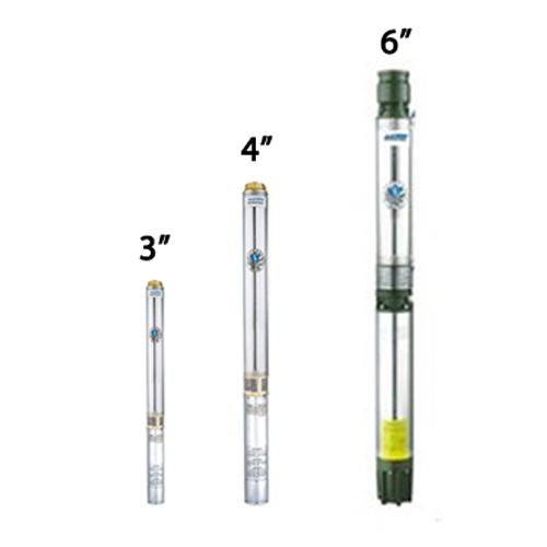 Bơm cây MasTra: 3 INCH - 4 INCH - 6 INCH
