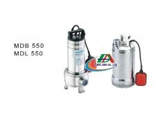 Máy bơm nước thải hiệu MASTRA MDB 550 / MDL 550